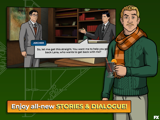 Archer: Danger Phone apktram screenshots 15