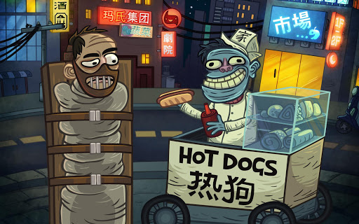 Troll Face Quest: Horror apkpoly screenshots 9