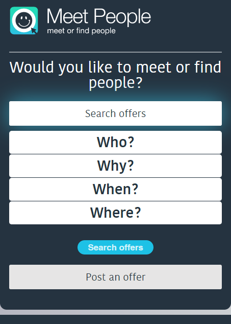 MeetPeople.biz- screenshot