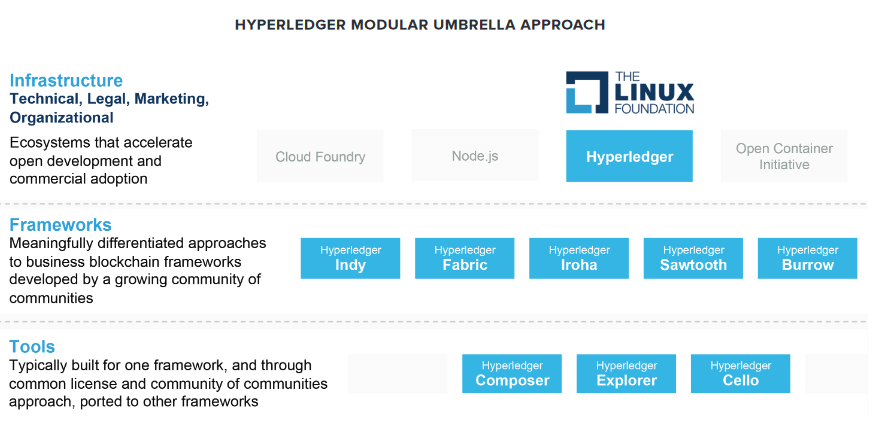 Image result for hyperledger umbrella