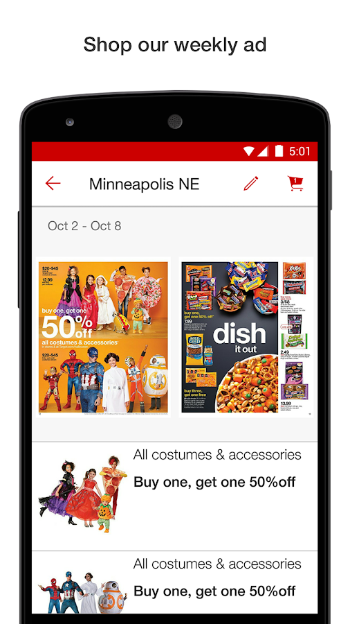 Target - Plan, Shop & Save- screenshot