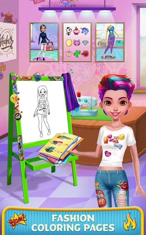 Patch It Girl! - Design DIY Patches & Clothes- screenshot