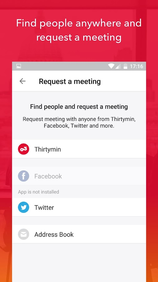 Thirtymin - Meetings Assistant- screenshot