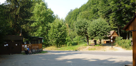 Photo: Oldřichovské sedlo. Hospoda zavřeno. Není voda.