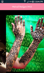 New Mehndi Designs 2017 App- screenshot thumbnail