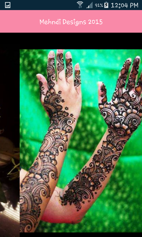 New Mehndi Designs 2017 App- screenshot