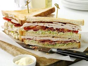 Photo: Club sandwich