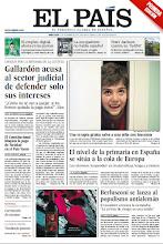 Photo: En la portada de EL PAÍS del 12 de diciembre: Gallardón acusa al sector judicial de defender solo sus intereses; El nivel de la enseñanza primaria en España se sitúa a la cola de Europa; Berlusconi se lanza al populismo antialemán http://ep00.epimg.net/descargables/2012/12/12/138df049f0f8e007f6028cb35b8eece5.jpg