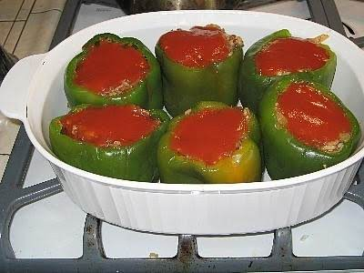 Stuffed Bell Peppers (easy) Recipe