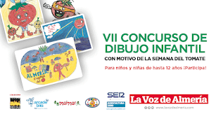 Imagen del VII Concurso de Dibujo Infantil en la Semana del Tomate 2021.