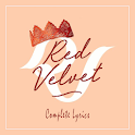 Red Velvet Lyrics (Offline) icon