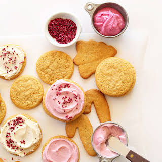 1 Bowl Vegan Sugar Cookies.