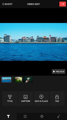 VUE: video editor & camcorder 3.1.8.4 screenshots 2
