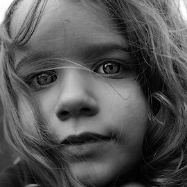 Lucy by Patrick Riley - Babies & Children Children Candids ( child photography, candid, bnw, kids )