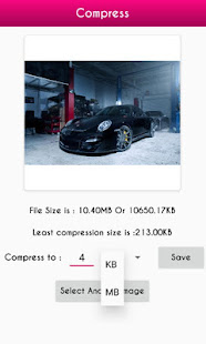 Download Photo Compressor In KB and MB For PC Windows and Mac apk screenshot 2