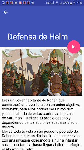 Biblioteca Libro Juegos de rol interactivos screenshot 3
