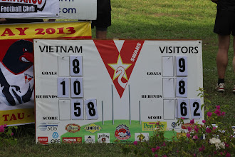 Photo: It's very tight in the last quarter with just 4pts separating the two teams. Photo by Anne-Marie Robb.