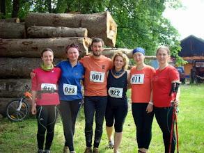 Photo: Some participants ran the whole race - 100km,....