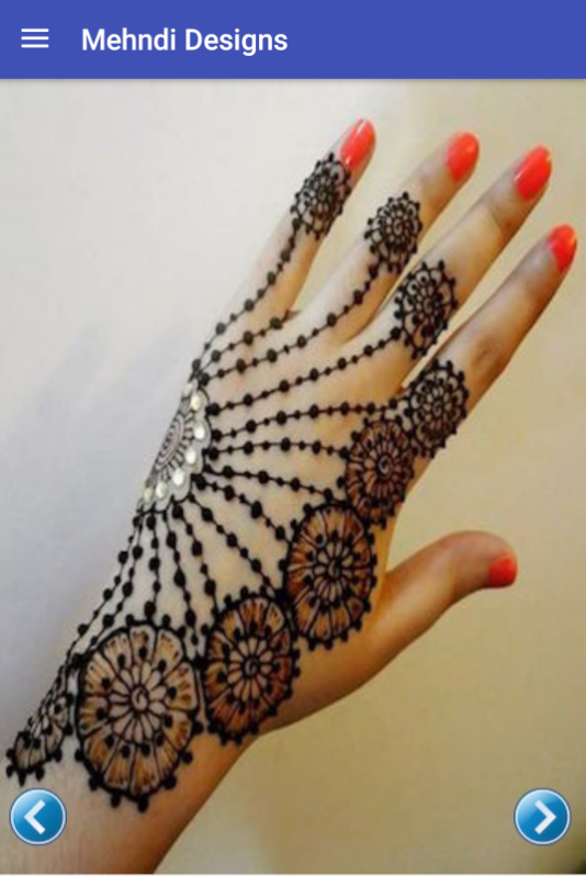 Mehndi Designs App : Mehndi designs new android apps on google play