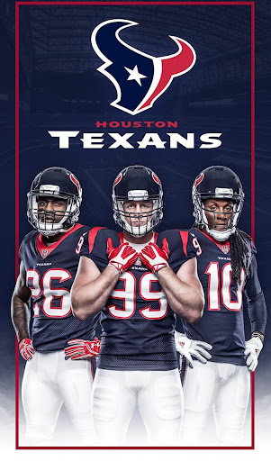 Houston Texans Mobile App Screenshot
