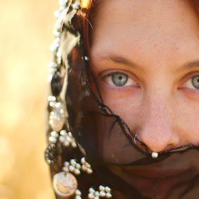 by Amy Spurgeon - People Portraits of Women ( woman, eyes )