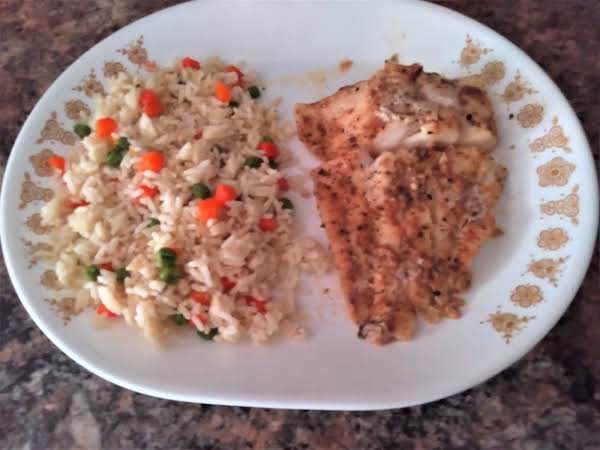 Baked Cod Fish For One