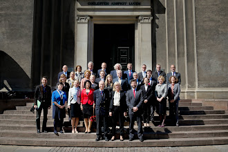 Photo: Foto: Lizette Kabré.  The Comité Directeur in front of the University of Copenhagen