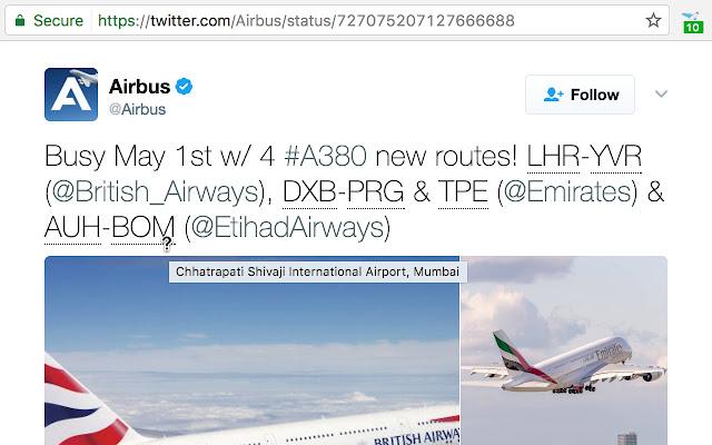 Airport Code Explainer