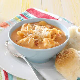 Tomato Tortellini Soup.