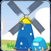 Cartoon Windmill LiveWallpaper