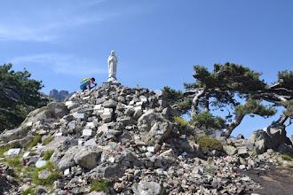 Photo: socha Panny Márie, drží stráž na tomto vyhliadkovom mieste