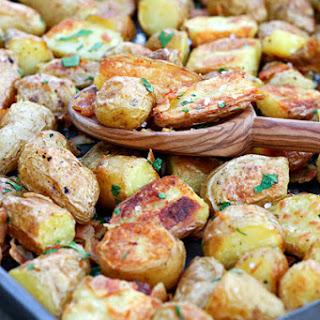Crispy English Potatoes with Pancetta