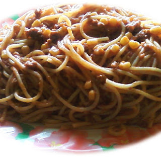 Spaghetti and Beef