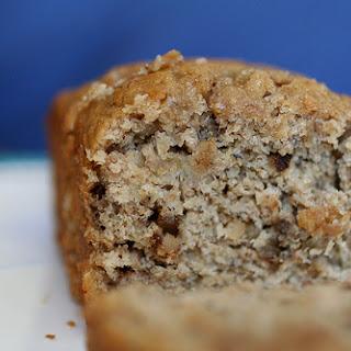 Walnut-Bourbon Banana Bread.