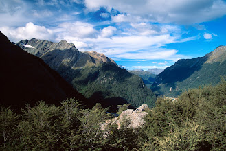 Photo: View from Routeburn Falls Hut