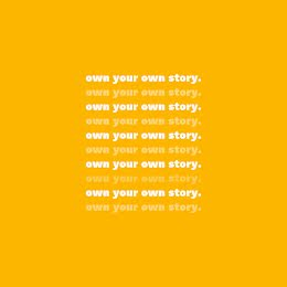 Own Your Own Story 02 - Instagram Post item
