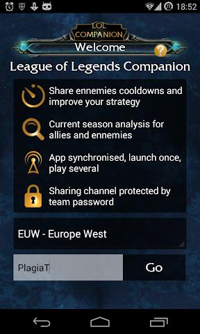 android LoLCompanion : App For LoL Screenshot 0