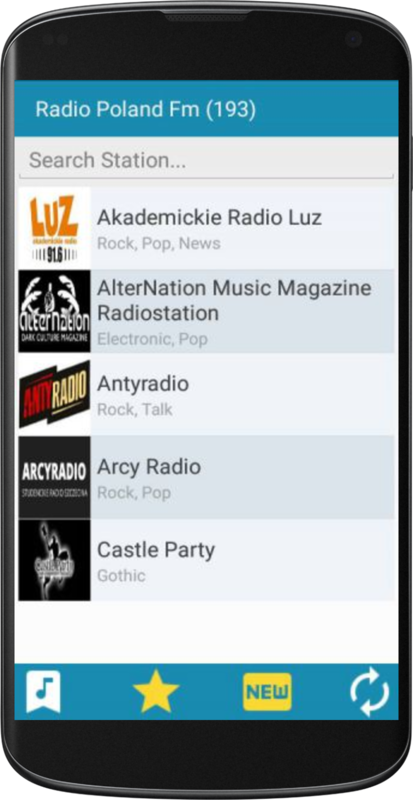 Radio Poland FM- screenshot