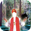 Montaje de la foto del sacerdo icon