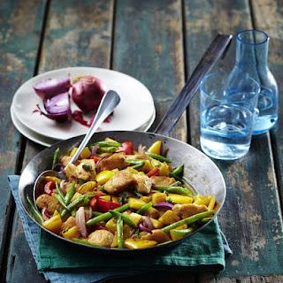 Skillet Chicken and Vegetables.