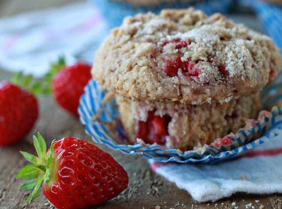 Strawberry Streusel Muffins Recipe