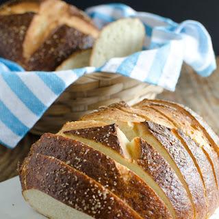 Sliced Pretzel Bread.