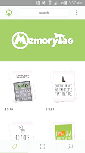 MemoryTag Greeting Cards- screenshot thumbnail