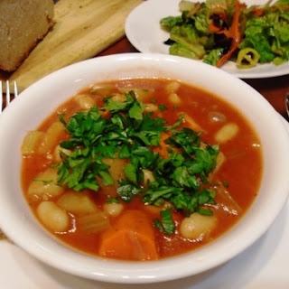 Greek Bean Stew (Red Version)