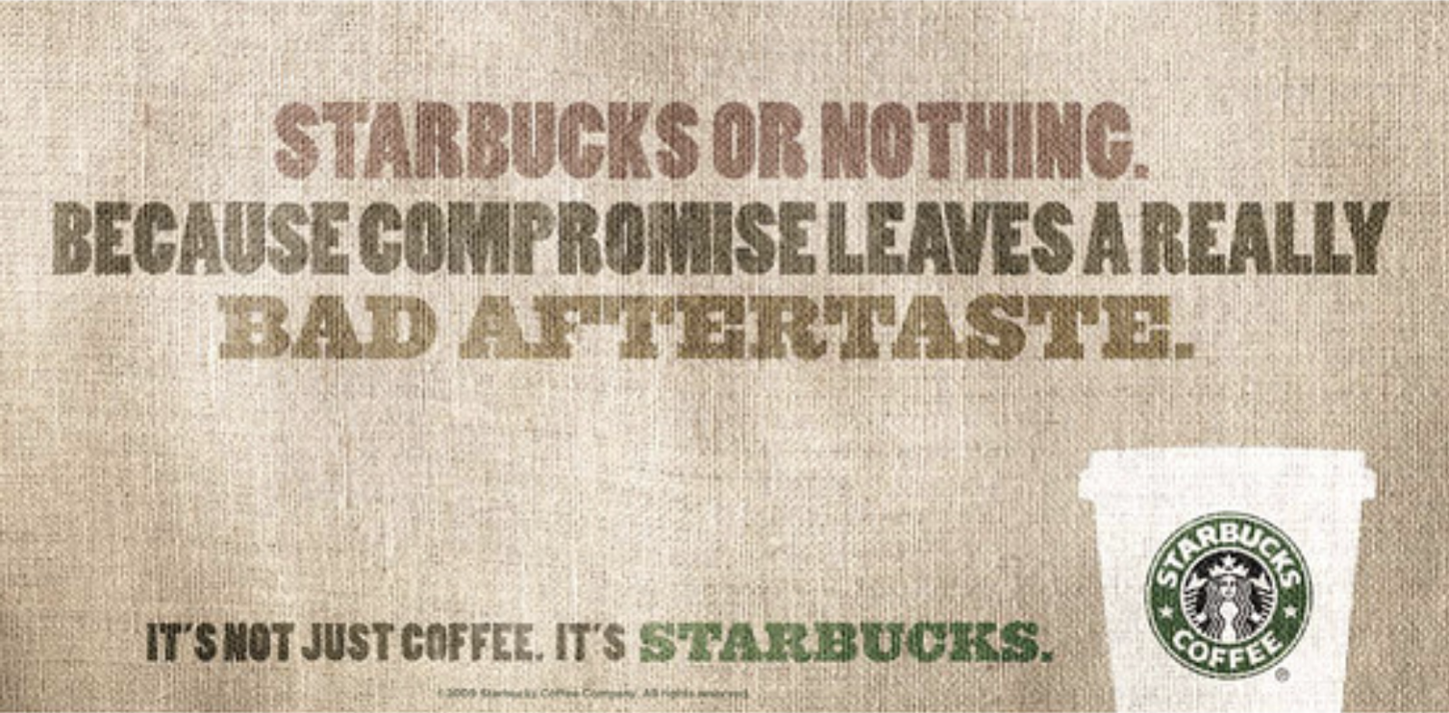 examples of brand repositioning - Starbucks
