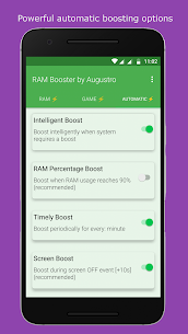 RAM & Game Booster by Augustro (67% OFF) 3