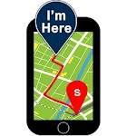 GPS Phone Tracker: Offline Mobile Phone Locator Icon