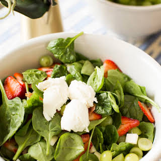 Mary's Summer Salad with Poppy Seed Dressing.