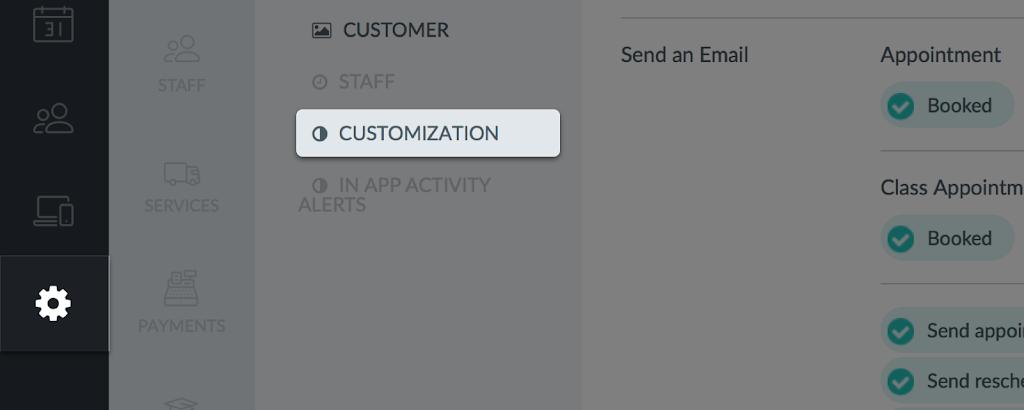 Setmore_Settings_Customization