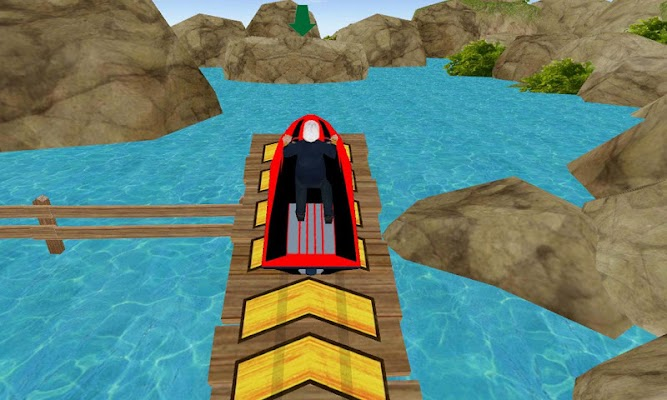 Jet Ski Driving Simulator 3D - screenshot